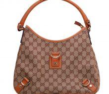 Gucci GG canvas one-shoulder bag