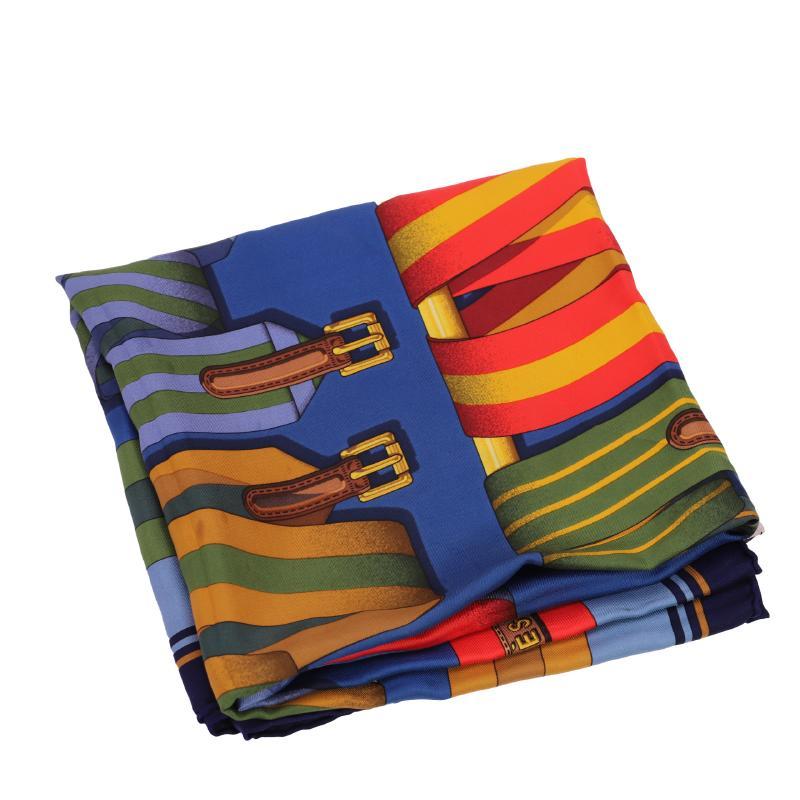 エルメス スカーフ シルク100%