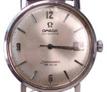 オメガ シーマスターデビル 手巻き時計