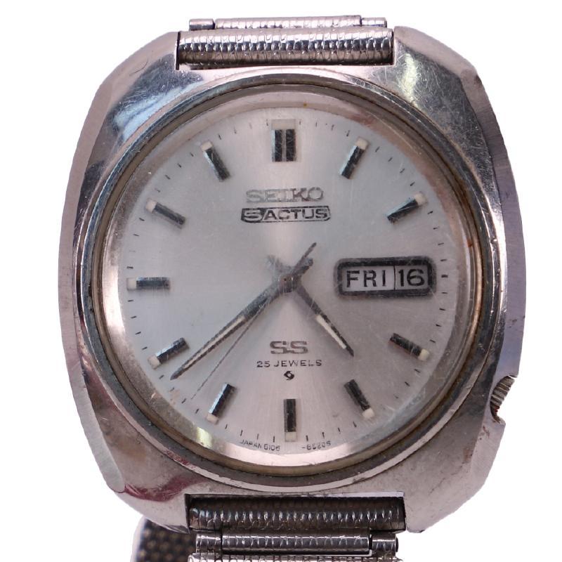 セイコー5 メンズデイデイト 自動巻時計