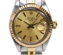 ロレックス 6917デイトジャスト 自動巻レディース時計