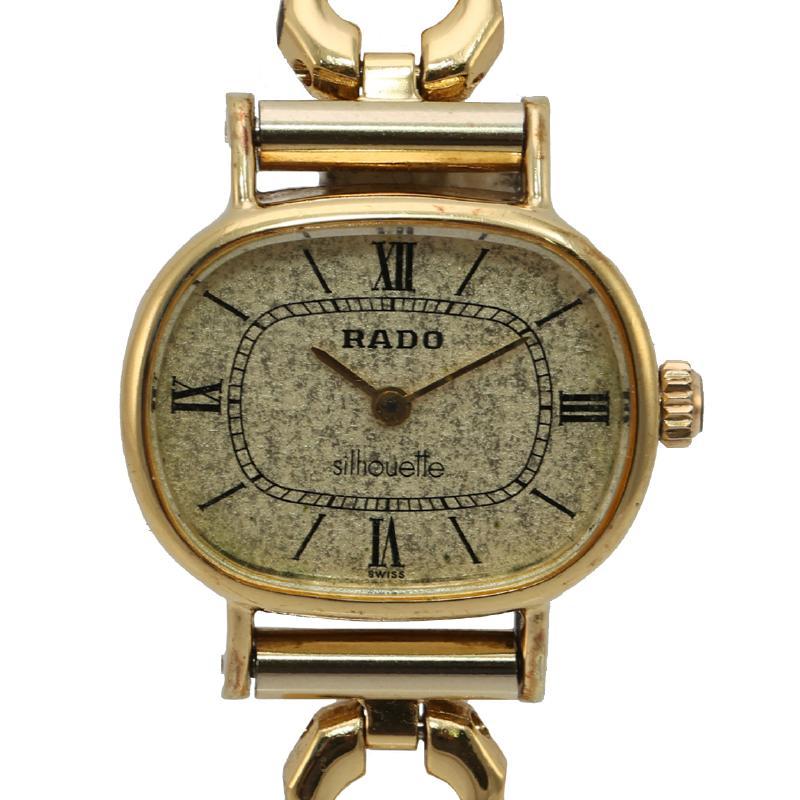 ラドー レディース時計 手巻き