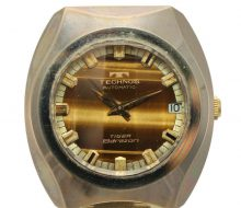 テクノス タイガーボラゾン メンズ自動巻時計