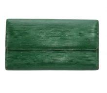 ルイヴィトン M63384 エピ 3つ折長財布