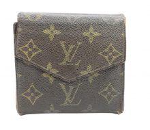 ルイヴィトン M61660 モノグラム Wホック財布